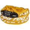 Red Cycling Products Secure Chain Pyörälukko resettable , keltainen